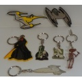 Key rings, Badges, Magnets